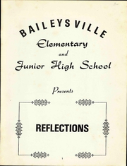 Page 3, 1980 Edition, Baileysville Middle School - Highlights Yearbook (Brenton, WV) online yearbook collection