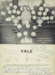 Page 5, 1955 Edition, St Marys High School - Vale Yearbook (Clarksburg, WV) online yearbook collection