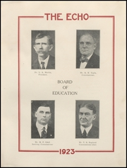 Page 11, 1923 Edition, Beckley High School - Echo Yearbook (Beckley, WV) online yearbook collection