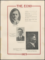 Page 15, 1923 Edition, Beckley High School - Echo Yearbook (Beckley, WV) online yearbook collection