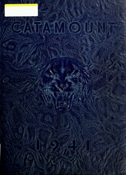 Page 1, 1941 Edition, Potomac State College - Catamount Yearbook (Keyser, WV) online yearbook collection