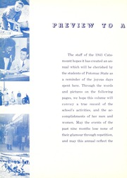 Page 10, 1941 Edition, Potomac State College - Catamount Yearbook (Keyser, WV) online yearbook collection