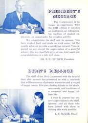 Page 14, 1941 Edition, Potomac State College - Catamount Yearbook (Keyser, WV) online yearbook collection