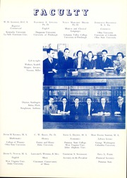 Page 15, 1941 Edition, Potomac State College - Catamount Yearbook (Keyser, WV) online yearbook collection