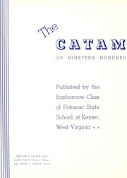 Page 8, 1941 Edition, Potomac State College - Catamount Yearbook (Keyser, WV) online yearbook collection