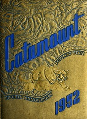 Page 1, 1952 Edition, Potomac State College - Catamount Yearbook (Keyser, WV) online yearbook collection