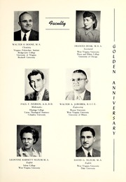 Page 15, 1952 Edition, Potomac State College - Catamount Yearbook (Keyser, WV) online yearbook collection