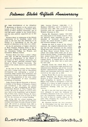 Page 9, 1952 Edition, Potomac State College - Catamount Yearbook (Keyser, WV) online yearbook collection