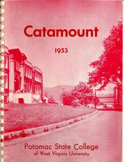Page 1, 1953 Edition, Potomac State College - Catamount Yearbook (Keyser, WV) online yearbook collection
