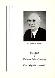 Page 8, 1953 Edition, Potomac State College - Catamount Yearbook (Keyser, WV) online yearbook collection