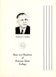 Page 9, 1953 Edition, Potomac State College - Catamount Yearbook (Keyser, WV) online yearbook collection