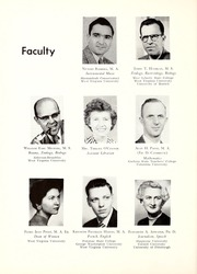 Page 14, 1958 Edition, Potomac State College - Catamount Yearbook (Keyser, WV) online yearbook collection