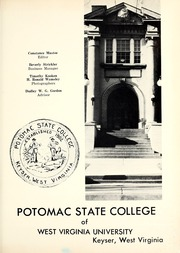 Page 5, 1962 Edition, Potomac State College - Catamount Yearbook (Keyser, WV) online yearbook collection