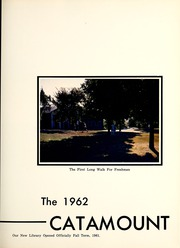 Page 7, 1962 Edition, Potomac State College - Catamount Yearbook (Keyser, WV) online yearbook collection