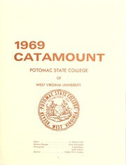 Page 9, 1969 Edition, Potomac State College - Catamount Yearbook (Keyser, WV) online yearbook collection