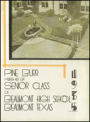 Page 9, 1935 Edition, Beaumont High School - Pine Burr Yearbook (Beaumont, TX) online yearbook collection