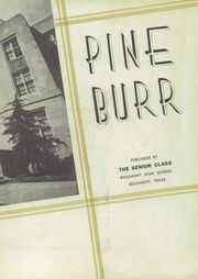Page 7, 1938 Edition, Beaumont High School - Pine Burr Yearbook (Beaumont, TX) online yearbook collection