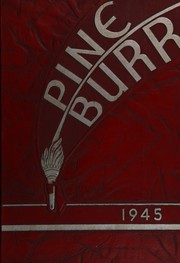 Page 1, 1945 Edition, Beaumont High School - Pine Burr Yearbook (Beaumont, TX) online yearbook collection
