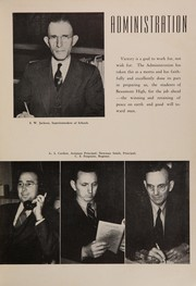 Page 13, 1945 Edition, Beaumont High School - Pine Burr Yearbook (Beaumont, TX) online yearbook collection