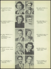 Page 13, 1948 Edition, Brownwood High School - Pecan Yearbook (Brownwood, TX) online yearbook collection