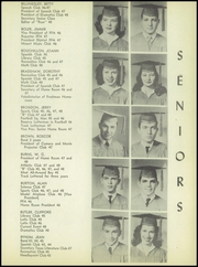 Page 17, 1948 Edition, Brownwood High School - Pecan Yearbook (Brownwood, TX) online yearbook collection