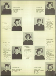 Page 18, 1950 Edition, Brownwood High School - Pecan Yearbook (Brownwood, TX) online yearbook collection