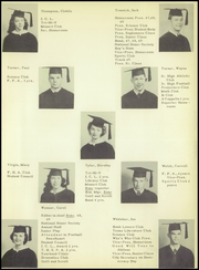 Page 29, 1950 Edition, Brownwood High School - Pecan Yearbook (Brownwood, TX) online yearbook collection