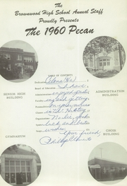 Page 5, 1960 Edition, Brownwood High School - Pecan Yearbook (Brownwood, TX) online yearbook collection