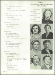 Page 14, 1947 Edition, Neenah High School - Rocket Yearbook (Neenah, WI) online yearbook collection