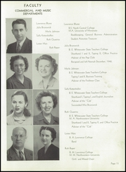 Page 15, 1947 Edition, Neenah High School - Rocket Yearbook (Neenah, WI) online yearbook collection