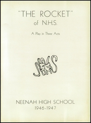 Page 5, 1947 Edition, Neenah High School - Rocket Yearbook (Neenah, WI) online yearbook collection