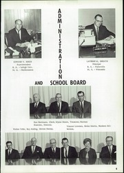 Page 9, 1967 Edition, River Valley High School - Hawk Yearbook (Spring Green, WI) online yearbook collection