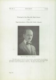 Page 10, 1922 Edition, Mayville High School - Rocket Yearbook (Mayville, WI) online yearbook collection
