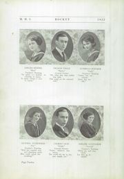 Page 16, 1922 Edition, Mayville High School - Rocket Yearbook (Mayville, WI) online yearbook collection