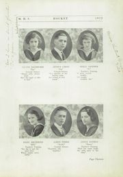 Page 17, 1922 Edition, Mayville High School - Rocket Yearbook (Mayville, WI) online yearbook collection