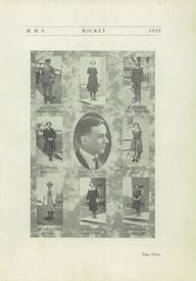 Page 7, 1922 Edition, Mayville High School - Rocket Yearbook (Mayville, WI) online yearbook collection