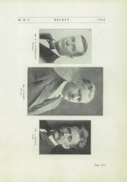 Page 9, 1922 Edition, Mayville High School - Rocket Yearbook (Mayville, WI) online yearbook collection