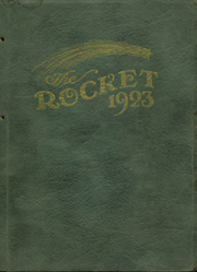 1923 Edition, Mayville High School - Rocket Yearbook (Mayville, WI)