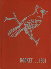 1951 Edition, Mayville High School - Rocket Yearbook (Mayville, WI)