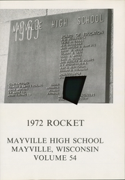 Page 5, 1972 Edition, Mayville High School - Rocket Yearbook (Mayville, WI) online yearbook collection