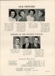 Page 11, 1952 Edition, Whitewater High School - Aqualba Yearbook (Whitewater, WI) online yearbook collection