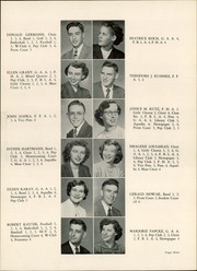 Page 13, 1952 Edition, Whitewater High School - Aqualba Yearbook (Whitewater, WI) online yearbook collection