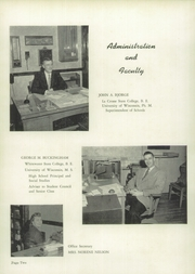 Page 6, 1955 Edition, Whitewater High School - Aqualba Yearbook (Whitewater, WI) online yearbook collection