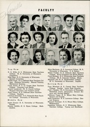 Page 12, 1945 Edition, Watertown High School - Orbit Yearbook (Watertown, WI) online yearbook collection