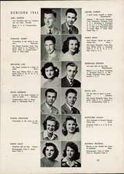 Page 17, 1945 Edition, Watertown High School - Orbit Yearbook (Watertown, WI) online yearbook collection
