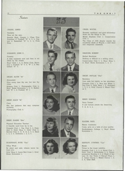 Page 16, 1948 Edition, Watertown High School - Orbit Yearbook (Watertown, WI) online yearbook collection
