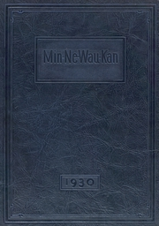 1930 Edition, Baraboo High School - Minnewaukan Yearbook (Baraboo, WI)