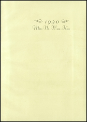 Page 5, 1930 Edition, Baraboo High School - Minnewaukan Yearbook (Baraboo, WI) online yearbook collection