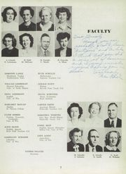 Page 11, 1949 Edition, Baraboo High School - Minnewaukan Yearbook (Baraboo, WI) online yearbook collection