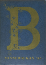 1955 Edition, Baraboo High School - Minnewaukan Yearbook (Baraboo, WI)
